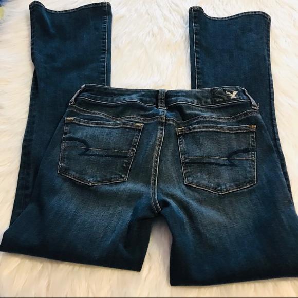 American Eagle Outfitters Denim - American Eagle Size 4 Jeans Skinny Kick Dark Wash